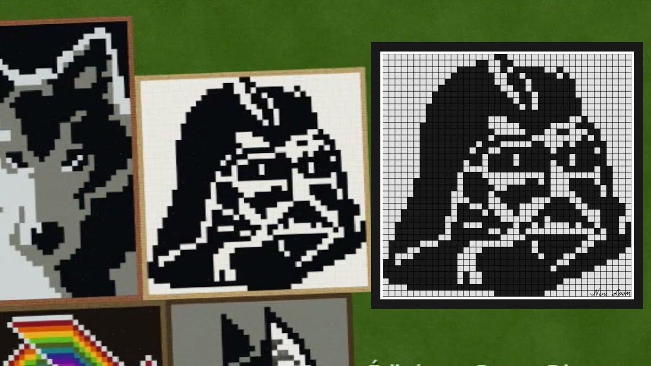 Pixel Art Dark Vador