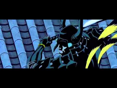 Two friends battle in a duel in Animatrix - Program