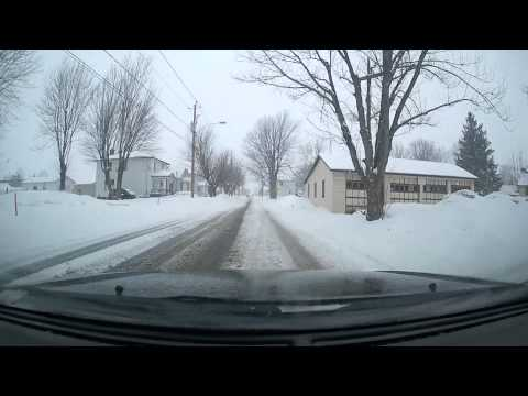 Short Drive Through Huntingdon Quebec