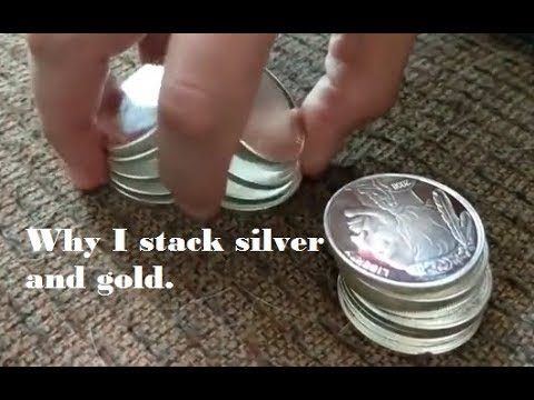 Why buy silver and gold? Stacking for wealth preservation is why I invest in silver and gold billion