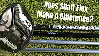 Does Shaft Flex Make a Difference?