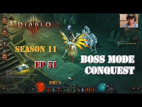 [Diablo 3] Boss Mode Conquest (Season 11)