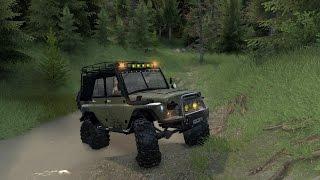 Уаз-469 «Phantom» Spin Tires