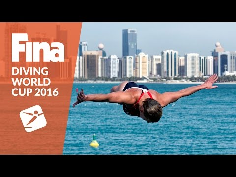 Re-Live: FINA High Diving World Cup 2016 Abu Dhabi - Sunday (28.02)