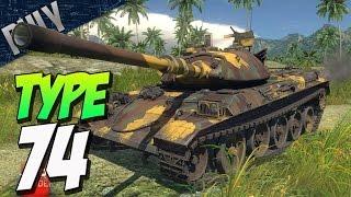 HYDRAULIC SUSPENSION - TYPE 74 Japanese Tank (War Thunder Devblog)