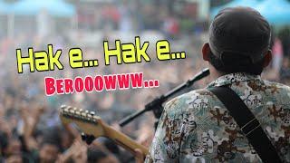 Langit dan bumi cover Debu Jalanan Reggae live Pensi SMA 1 Wringin Anom