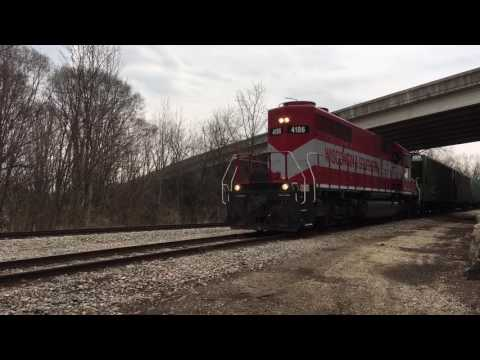 Wisconsin Southern train 4186