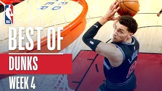 NBA's Best Dunks | Week 4