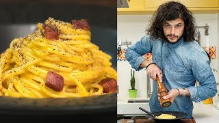 MACARRÃO À CARBONARA | Mohamad Hindi