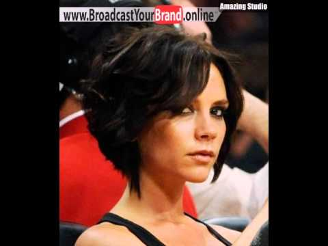 Victoria Beckham Kurze Frisuren Youtube