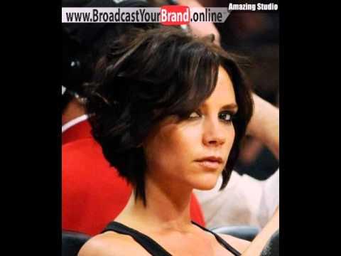 Victoria Beckham Kurze Frisuren YouTube
