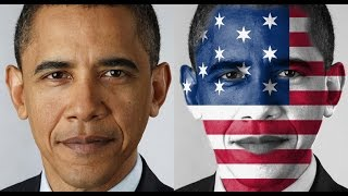 Mapping USA Flag on Obama Face in Photoshop