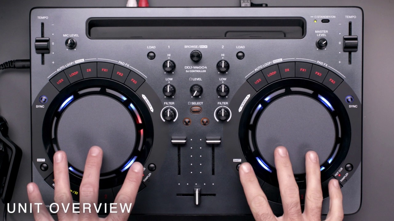 DJ Pioneer DDJ-WEGO4-K Black