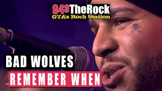 bad wolves remember when acoustic