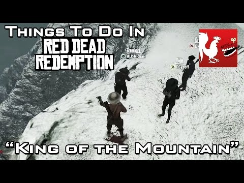 Things to Do In Red Dead Redemption  King of the Mountain  Rooster Teeth