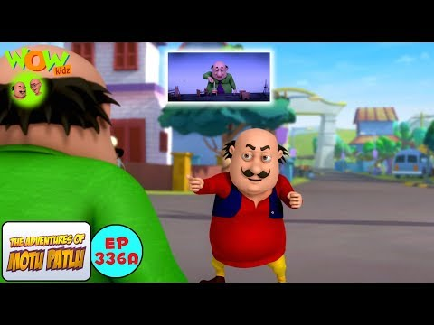Dr Jhatka ka mind projector - Motu Patlu in Hindi - 3D Animation Cartoon for Kids -As seen on Nick thumbnail