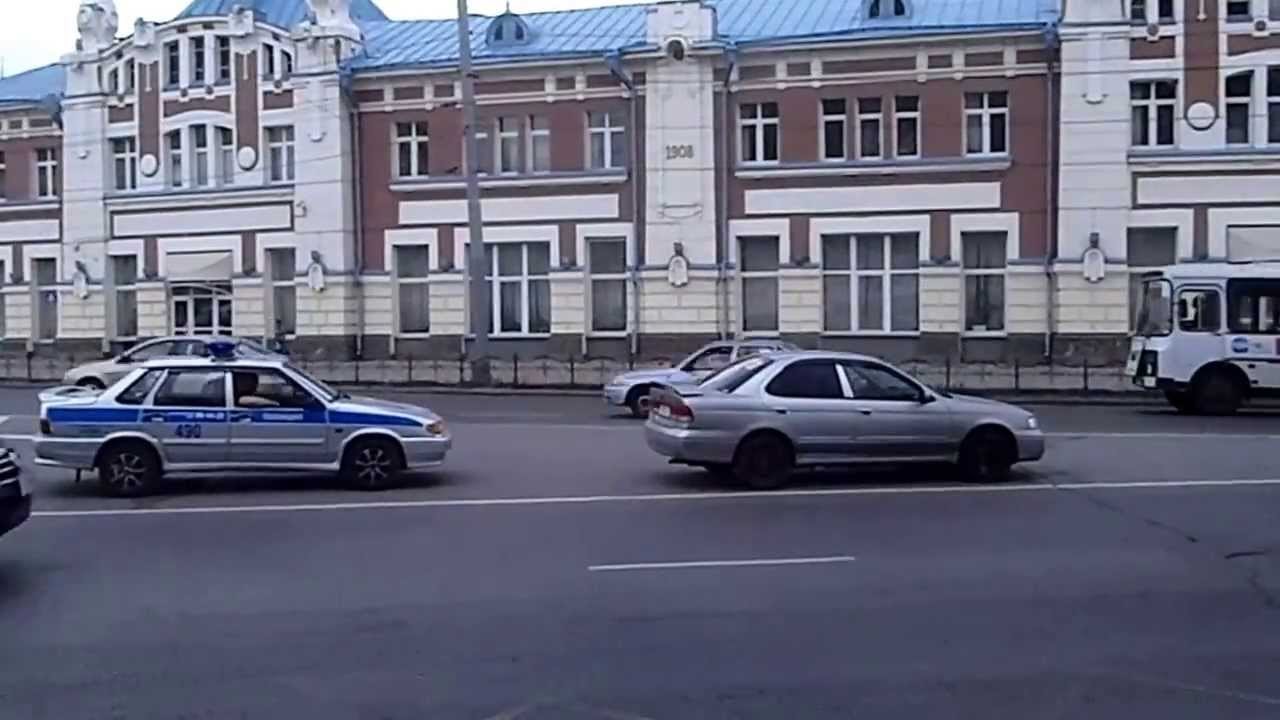 Томск , пл.Ленина , ГИБДД . Эпизод 2 - YouTube