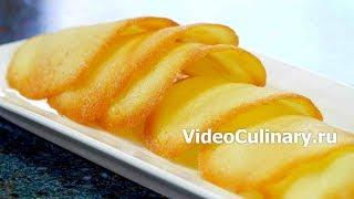 Французское сахарное печенье Твиль - рецепт Бабушки Эммы