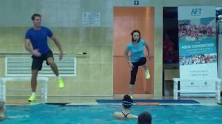 Алена Игнатович & Кирилл Мерзляков - Аквааэробика мастеркласс 2016(Kirill Merzliakov - Aqua-aerobic)