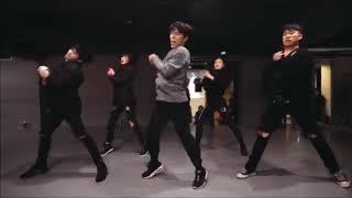 Natural Koosung Jung Choreography mirrored and slowed down a LOT