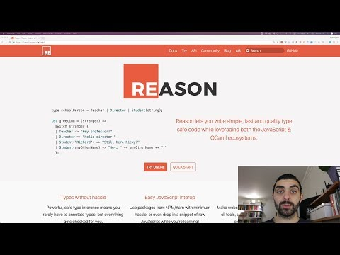 ReasonML – An introduction to