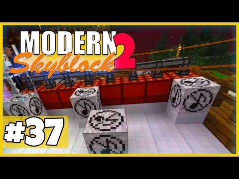 Wir RAIDEN die Base der Buddies! - Minecraft Modern Skyblock 2 (Expert Mode) - #37