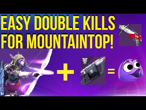 Double Kills For Mountaintop - EASIEST Method! Destiny 2 Season Of Opulence