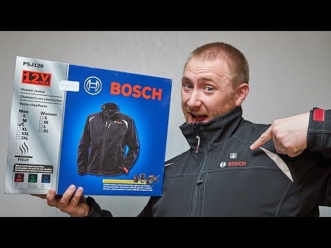 Bosch PSJ120 12v Heated Jacket Review