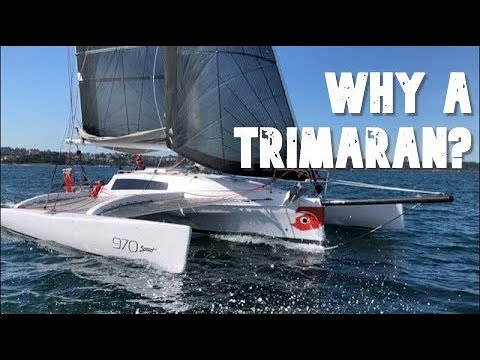 Why A Trimaran? Sailing The Corsair 970