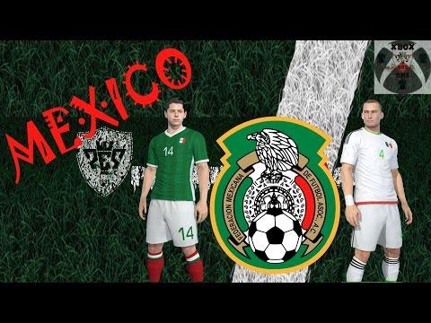 MEXICO KITS PES