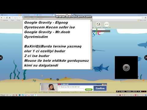 Google Gravity Elgoog