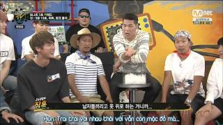 [BangTanSodamn][Vietsub] 150622 BTS @ YaManTV - Jin cấu vếu Jungkook