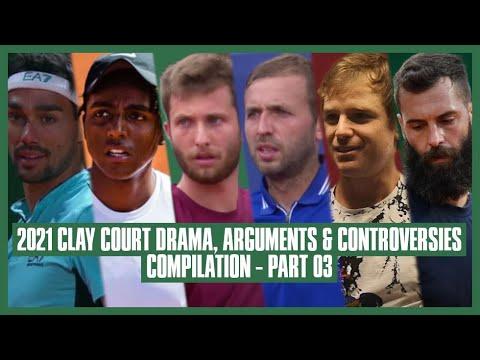 Tennis Clay Court Drama 2021 | Part 03 | He's a Rapper!