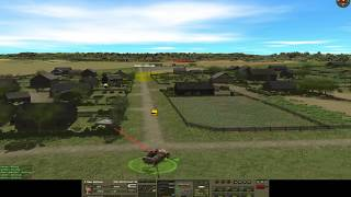 Combat Mission Red Thunder game 18-10-2017 German side