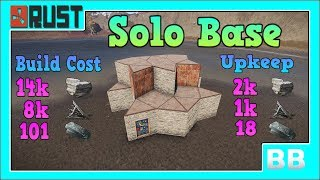 Rust 3. 2 Solo Base Design