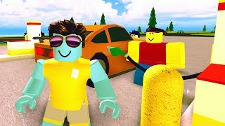 We're Pumpers at the gas station!! - Roblox Gas Station Simulator