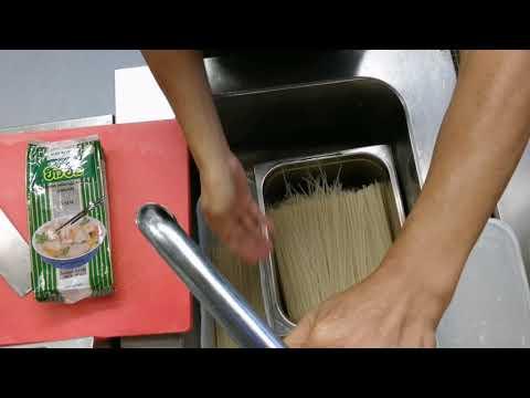 วิธีแช่เส้นจันทร์แห้ง สำหรับทำผัดไทย