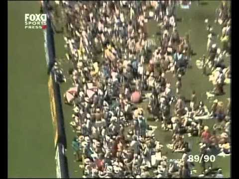 Tom Moody 4 HUGE sixes vs Pakistan - GABBA 1990