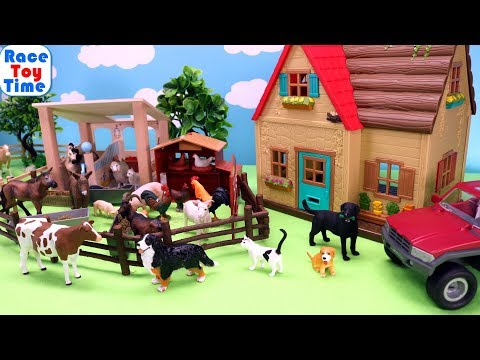 Cattle and Farm Animals Toys For Kids - Learn Animals Name