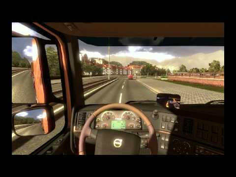 Heavy load moments - Euro Truck Simulator ETS 2 1.4.12 with map TSM 4.0.3