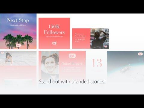 Meet Adobe Spark with Premium Features
