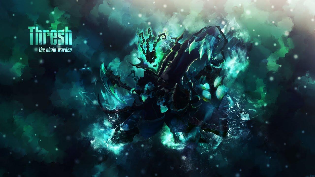 Thresh Speed Art League Of Legends Photoshop Wallpaper