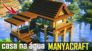 ✔ Minecraft Tutorial : CASA NA ÁGUA #2 🌊