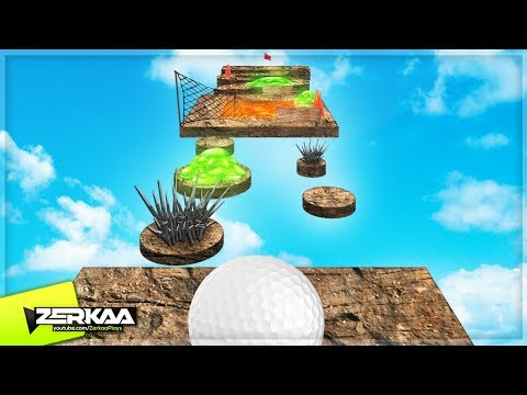 MOST IMPOSSIBLE OBSTACLE GOLF COURSES! (Golf It)