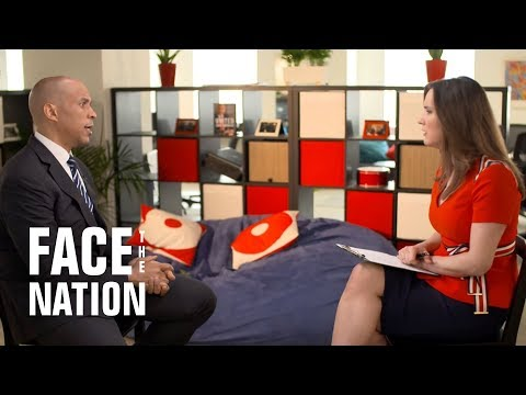 Democratic presidential candidate Cory Booker