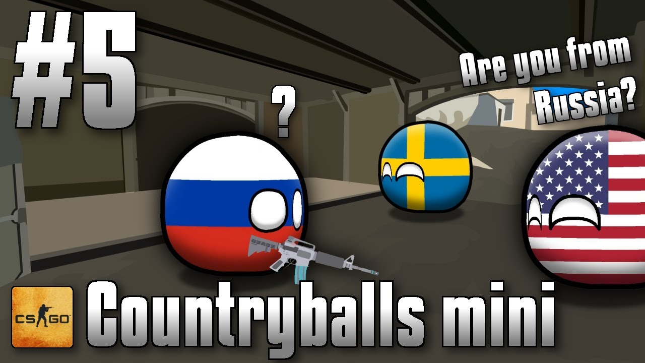 Are you from Russia? | but it's countryballs
