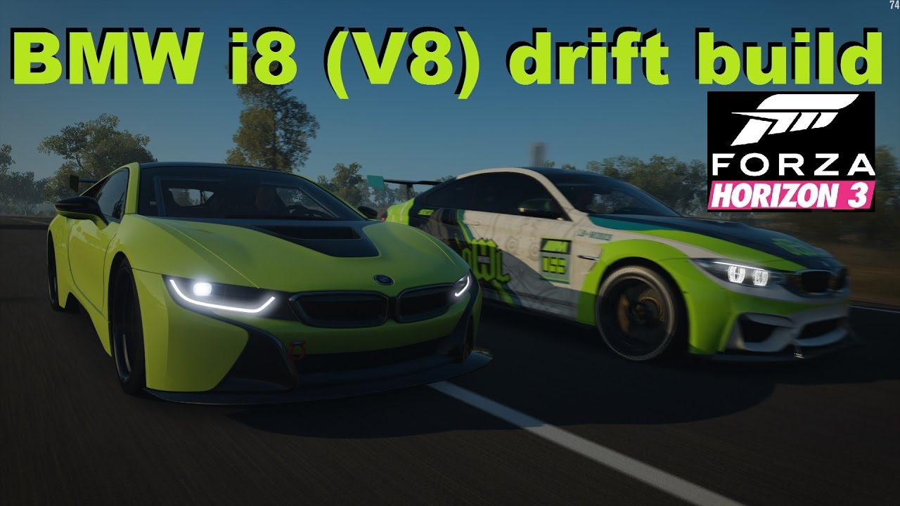 Bmw I8 V8 Twinturbo Swap Drifting Around Youtube