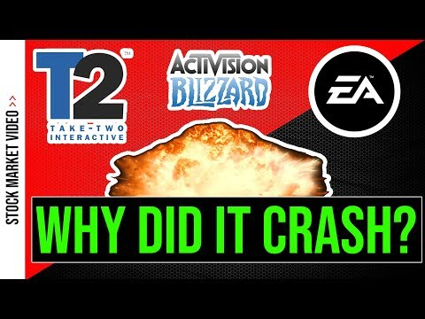 💥 Why Gaming Stocks Crashed - ATVI TTWO EA 💥
