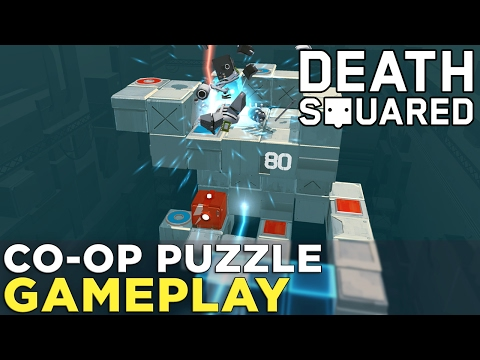Here's co-op puzzle Death Squared in action