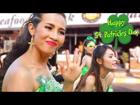 #Pattaya St  Patrick's Day Parade 17 March 2017